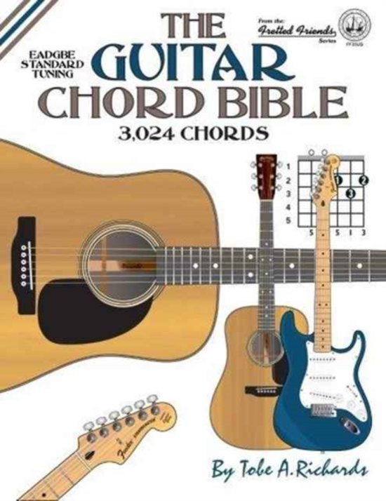Bol The Guitar Chord Bible Standard Tuning Tobe A Richards