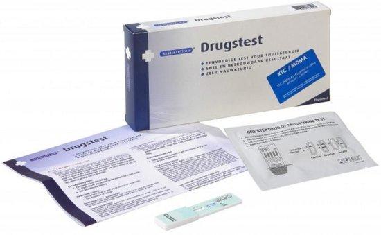 Testjezelf.nu - XTC MDMA - 1 stuk - Drugstest