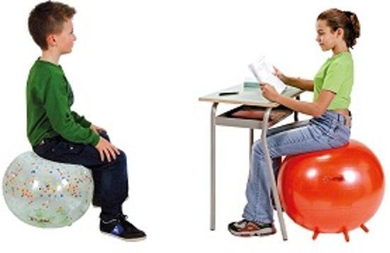 Gymnic Sit'n'Gym 65 BRQ - Zitbal - Blauw - Ø 65 cm