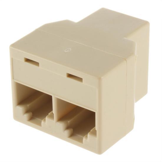 Uitzonderlijk bol.com | Netwerk kabel splitter (RJ45/ISDN) - RJ45 koppelstuk LR86
