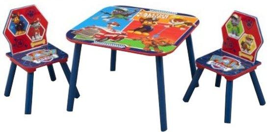 Nickelodeon Paw Patrol Tafel & Stoelen Set Blauw/rood