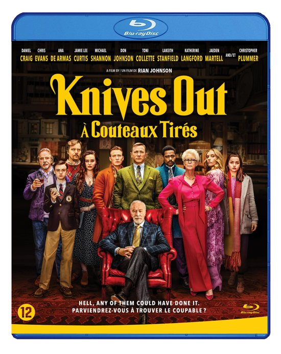 DVD cover van Knives Out (Blu-ray)