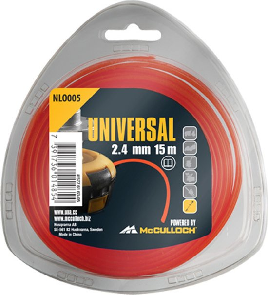 McCULLOCH NLO 006 Nylon draad 3.0mm x 10m - rond