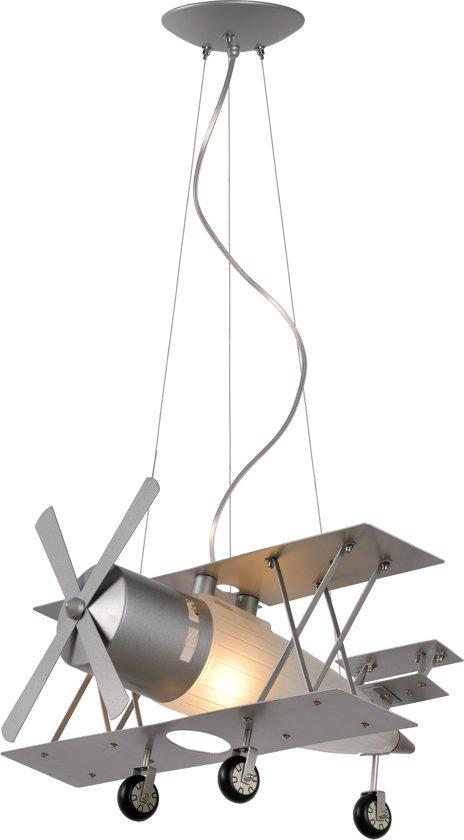 Hanglamp Voor Jongenskamer.Lucide Focker Hanglamp Kinderkamer E27 Grijs