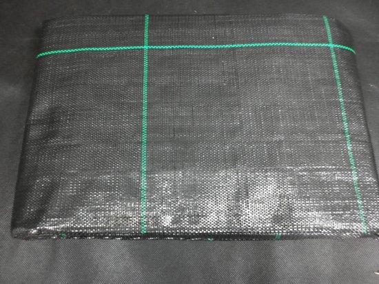Quality Anti Worteldoek gronddoek zwart 1 x 10 m 100 g/m2