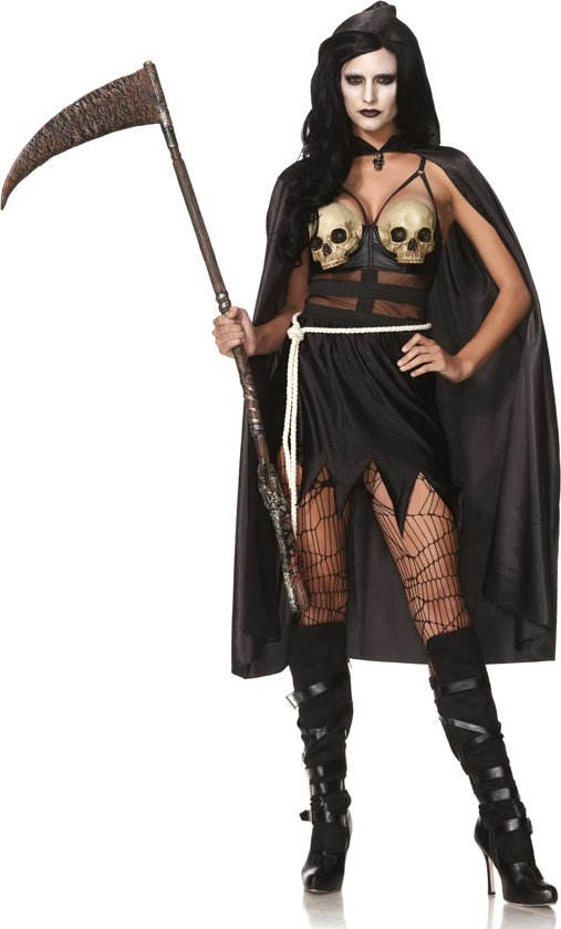 Halloween Kostuum Magere Hein.Bol Com Sexy Magere Hein Halloween Kostuum Voor Vrouwen