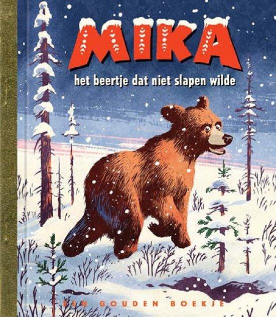 Gouden Boekjes Mika het beertje dat niet slapen wilde