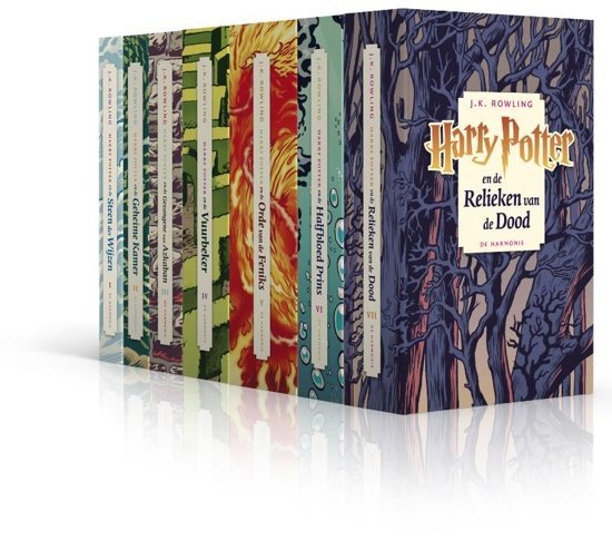 Harry Potter pocketpakket 7 delen