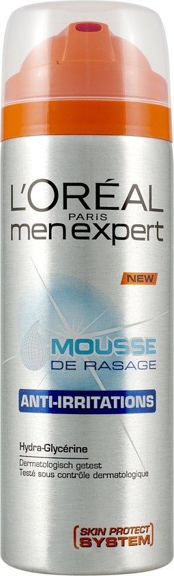 L'Oréal Men Expert Anti-Irritaties Shaving Mousse  - scheren - 200ml - Scheerschuim