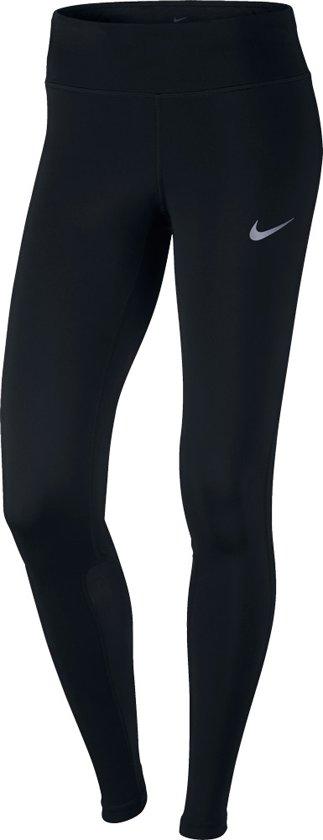 Nike Power Epic Tight - Broeken  - zwart - L