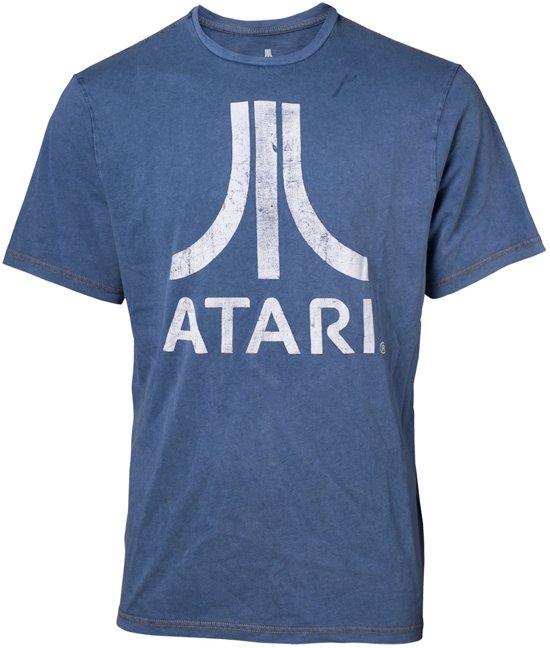 Atari - Faux Denim T-shirt - S