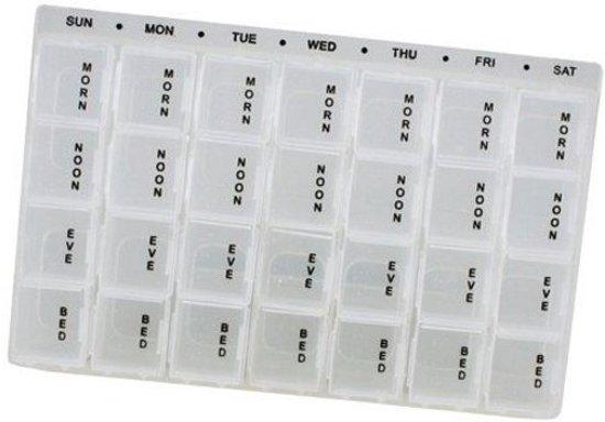 Medicijndoos Voor Een Week.Bol Com Pillendoos 7 Dagen Pillendoosjes Pillendoos