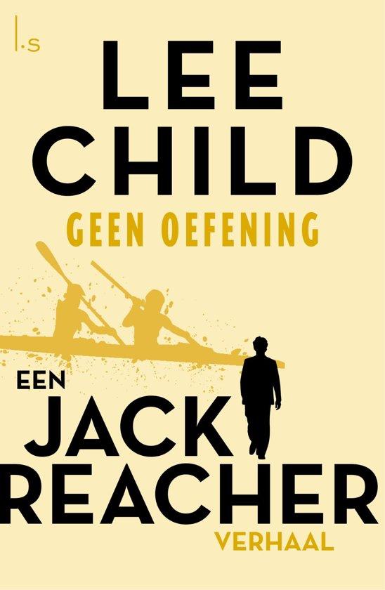 Boekomslag voor Jack Reacher 8 - Geen oefening