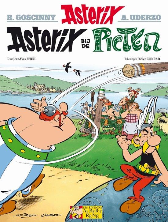 Boek cover Asterix 35 - Asterix bij de Picten van Didier Conrad (Paperback)