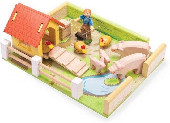 Le Toy Van Varkens En Kippenset