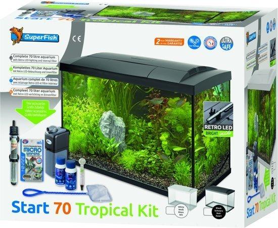 bol.com   Superfish Aquarium Aqua 70 Led Tropical 56x32x39.5 cm ...
