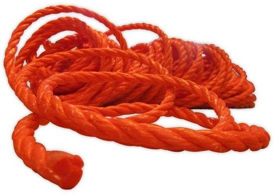 Touw Oranje Streng 8mm x 20 meter