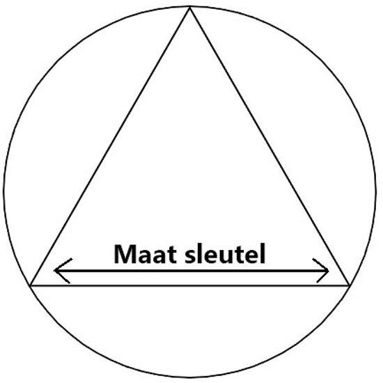Standaard driehoek sleutel (8mm)