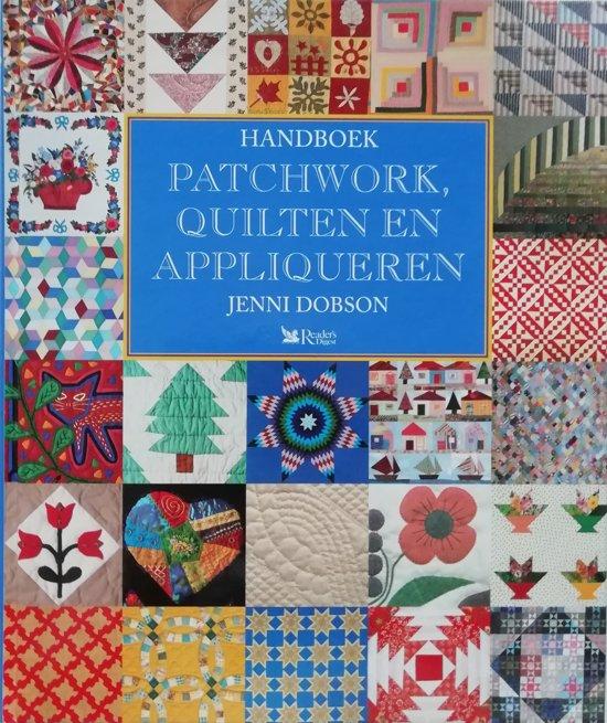 Afwerken Van Een Quilt.Bol Com Handboek Patchwork Quilten Appliqueren Dobson