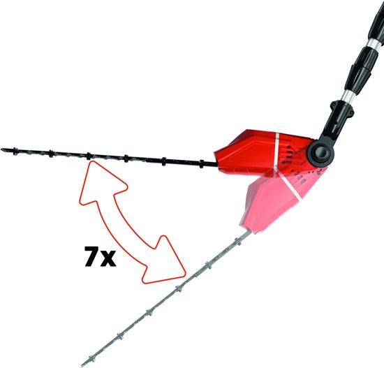 EINHELL Accu Telescopische Tuin-Multitool GE-HC 18 Li T Solo - Power-X-Change - 18 V - Zwaard Kettingzaag/Heggenschaar: 20/45 cm - Zonder accu & lader