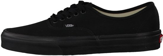 Maat Unisex 38 Authentic Black 5 Vans black Sneakers 1O4XxqwpE