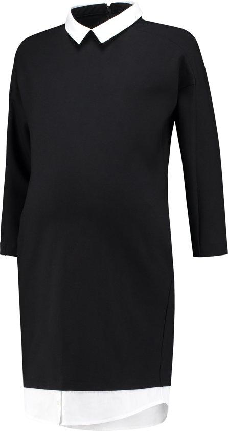 5bc20efc4ffefd LOVE2WAIT Dress Punta di Roma with Blouse - Black - S