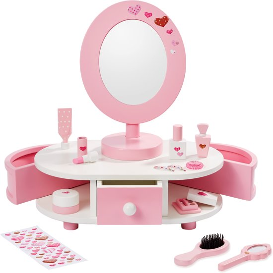 Kaptafel Met Spiegel Kind.Bol Com Howa Beauty Center Kaptafel Little Lady Met Accessoires