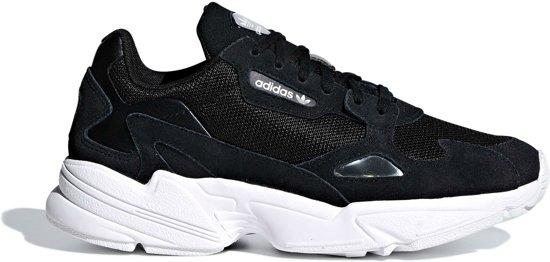 adidas Falcon Dames Sneakers - Core Black/Core Black/Ftwr White - Maat 38