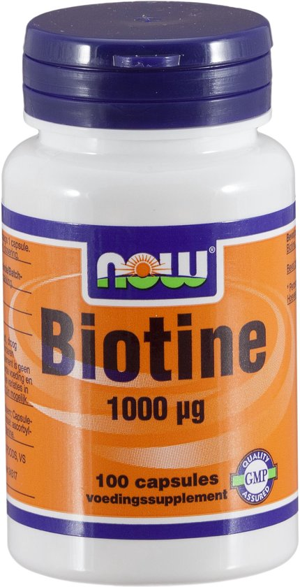 Now Biotine - 100 Capsules - Vitaminen