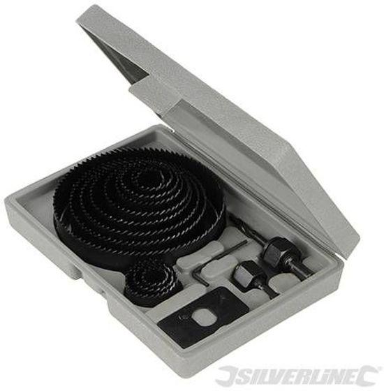 Silverline 16-delige gatenzaag set 19-127 mm