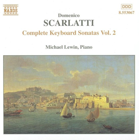 Scarlatti: Complete Keyboard Sonatas Vol 2 / Michael Lewin