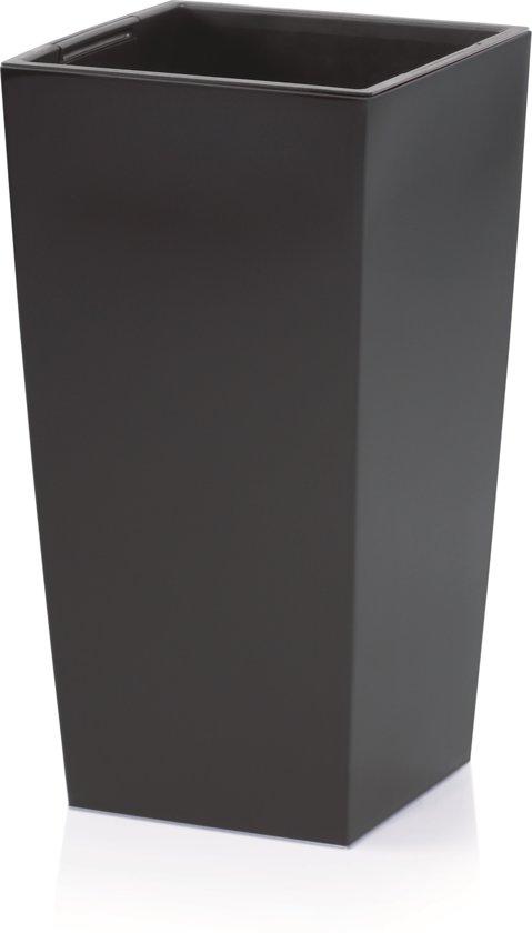 Bloempot Hoog Vierkant Urbi Square 40x40x75cm ANTRACIET Prosperplast