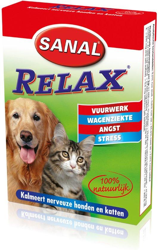 Sanal - Relax tablet - Anti-stressmiddel - 15 stuks