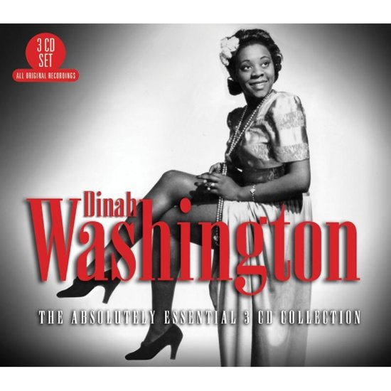 CD cover van The Absolutely Essential van Dinah Washington