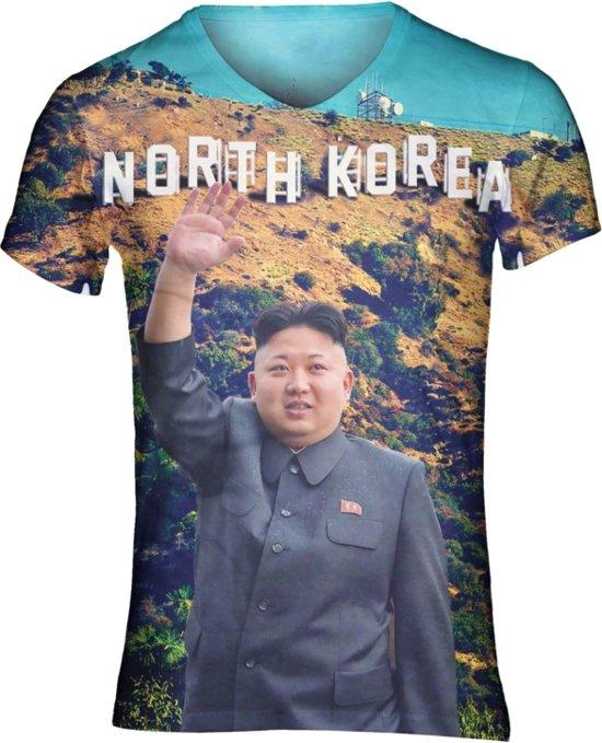 Kim jong un festival shirt Maat: L