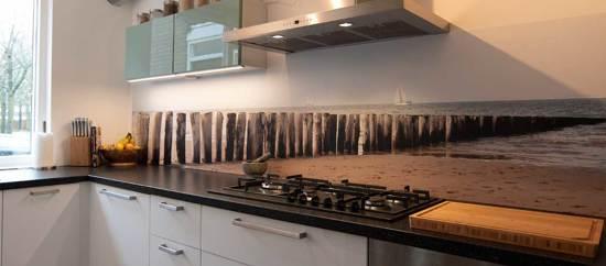 Onwijs bol.com   Keuken achterwand behang: -Breskens- 305x50 cm HP-03