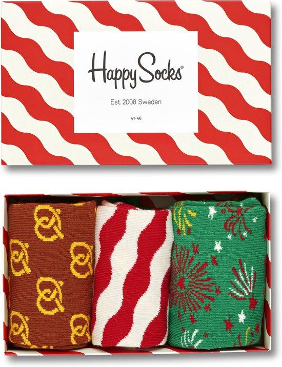 Happy Socks Kerst Giftbox - Maat 36-40