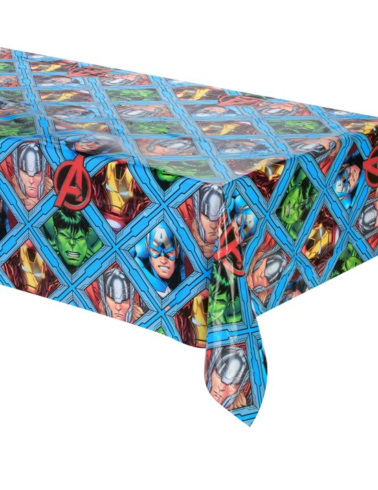 Mighty Avengers™ tafelkleed - Feestdecoratievoorwerp