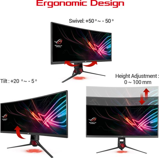 ASUS ROG Strix XG35VQ - UltraWide Curved Gaming monitor  / 100Hz