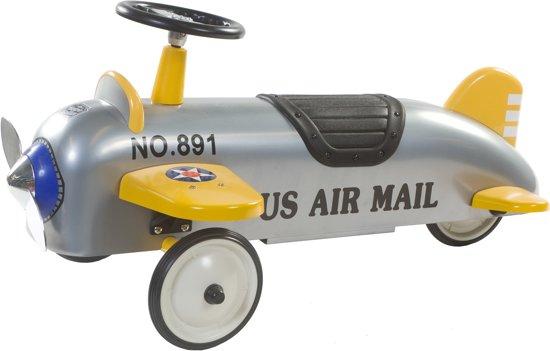 Retro Roller Charles Loopvliegtuig