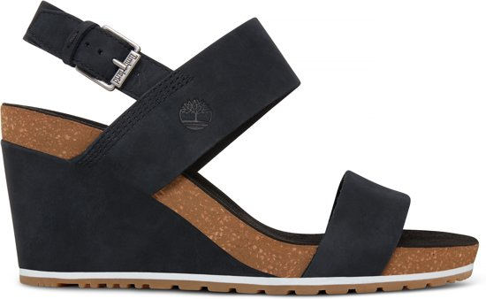 new style c3ccb d7f75 Timberland Dames Sandalen Capri Sunset Wedge - Blauw - Maat 37