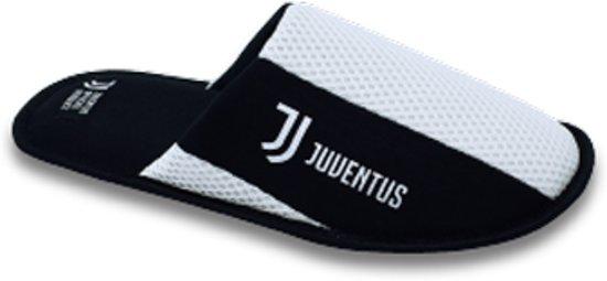 Maat 41 Zwart pantoffels Wit Sloffen 42 Juventus wUaHAq0