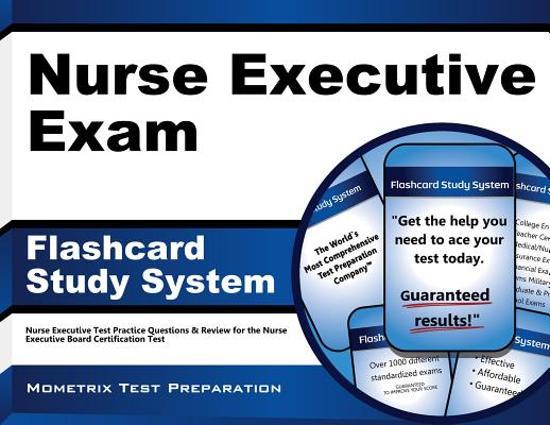Afbeelding van het spel Nurse Executive Exam Flashcard Study System