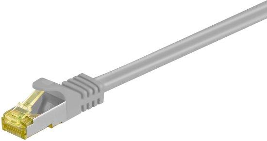 Alcasa 0.5m Cat.7 S/FTP netwerkkabel 0,5 m Cat7 S/FTP (S-STP) Grijs