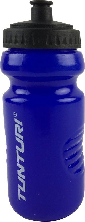 Tunturi Sportbidon - Bidon - drinkfles - Drinkbus - 500 ml Blauw