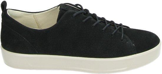 ECCO Soft 8 dames sneaker - Zwart - Maat 38