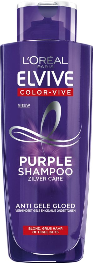 L'Oréal Paris Elvive Color-Vive Purple Shampoo - 200 ml