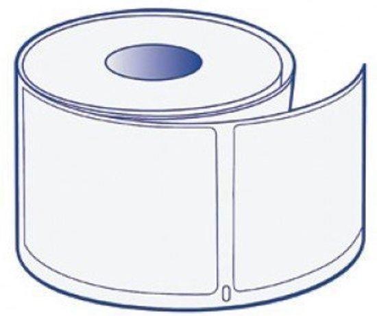 6x Dymo 99014 Compatible 220 Labels - Kleur: wit - Materiaal: papier - Afmeting: 101mm x 54mm