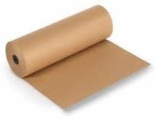 Rol Kraft Pakpapier 50 cm breed - 285 meter – 10 Kg - 70 g/m² (1 rol) [PBR50]