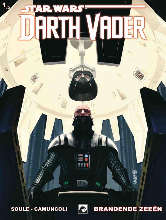 Boek cover Star Wars - Darth Vader 1 - Brandende Zeeën van Charles Soule (Paperback)